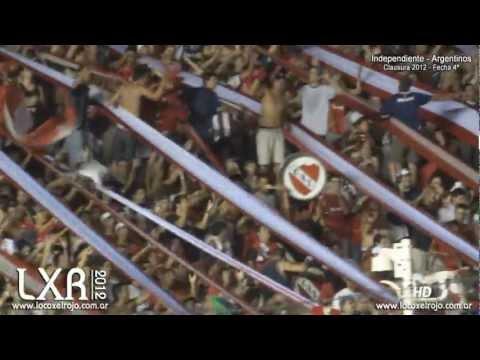 """Independiente 1 - Argentinos 3: """"No se como voy, no se como vengo..."""" - La Barra del Rojo - Independiente"""
