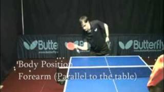 #3 Forehand Push