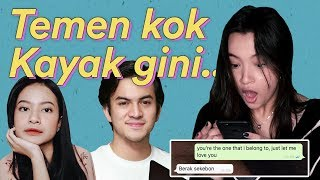 Video Prank Text ! Nyatain cinta ke Rizky Nazar tapi DITOLAK?? | Megan Domani MP3, 3GP, MP4, WEBM, AVI, FLV Juli 2019