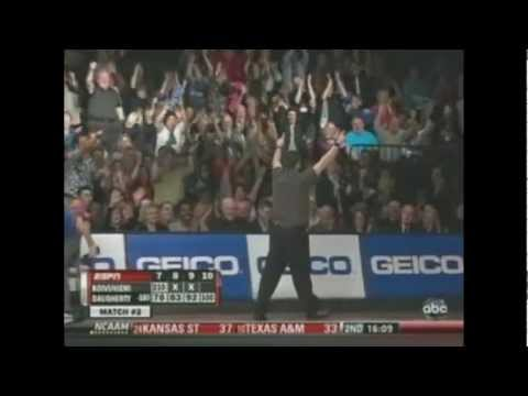 Lowest game bowled on tv