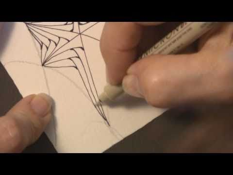 """Betweed"" demo by Zentangle® co-founder Maria Thomas"