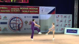 Ekaterina Tikhonova & Ivan Klimov - World Masters Moskau 2013