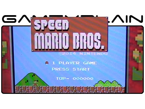 speed - http://www.GameXplain.com No, this video isn't in fast-forward! This is how Speed Mario Bros--a super fast version of the original NES Mario Bros-plays in Ultimate NES Remix for the Nintendo...