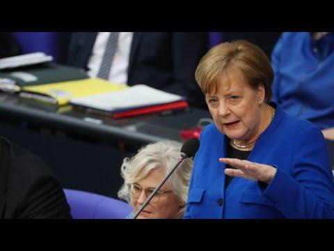 Abgeordneten-Fragen: Merkel erläutert Brexit-Politik der  ...