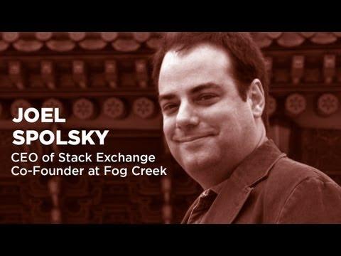 , title : 'Joel Spolsky - CEO of Stack Exchange & Co-Founder at Fog Creek'