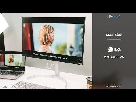 Màn hình LG 27UK850W - 4K & HDR10 nâng tầm đẳng cấp