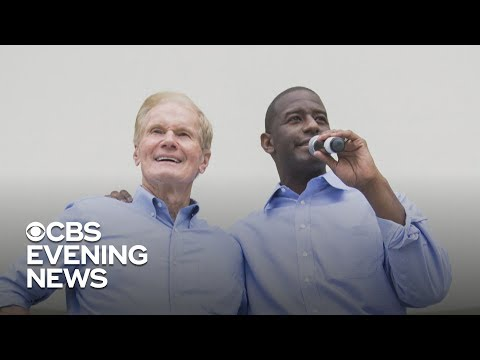 Key races in Florida and Georgia still undecided day after midterms