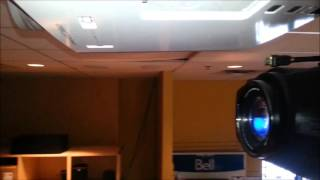 HOW TO CHANGE OR REPLACE A PROJECTOR BULB ON A EPSON HOME CINEMA 8350