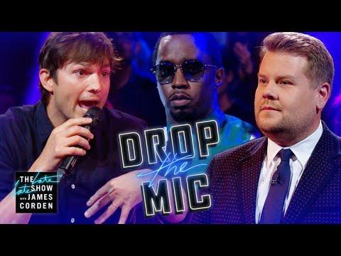 "Download Video Drop The Mic W/ Ashton Kutcher & Sean ""Diddy"" Combs"