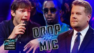 "Video Drop the Mic w/ Ashton Kutcher & Sean ""Diddy"" Combs MP3, 3GP, MP4, WEBM, AVI, FLV Januari 2019"