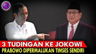 Download Video Gol B*nuh Diri! 3 Tud!n9an ke Jokowi, Prabowo Diperm4lukan Timses Sendiri MP3 3GP MP4