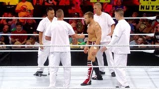 A Furious Daniel Bryan Is Escorted Out Of The Building: Raw, July 30, 2012