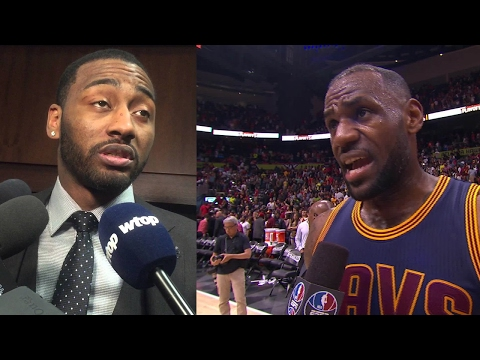 """LeBron James FIRES BACK at John Wall's """"Lucky Shot"""" Comments: """"Not For Me!"""""""