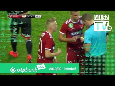 9. forduló: DVSC - DVTK 2-1 (1-0)