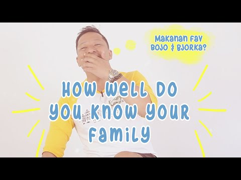 Ringgo Ditantang Main: How Well Do You Know Your Family