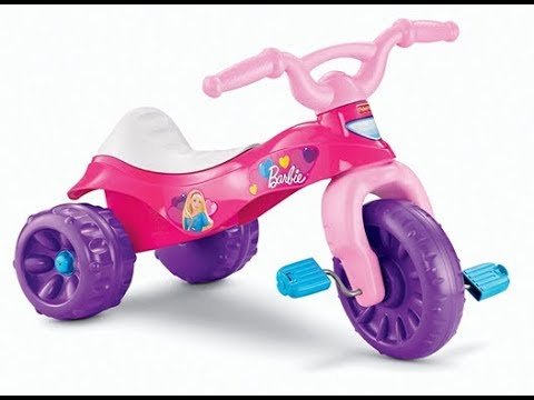 Fisher-Price Barbie Tough Trike - Best Kids Ride on Toys