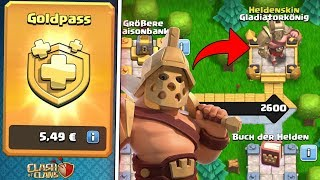 GOLDPASS & 3D HELDEN! ☆ Clash of Clans Update ☆ CoC
