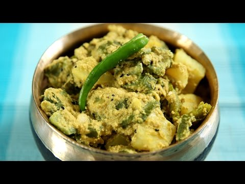 Jhinge Aloo Poshto Recipe | How to make Jhinge Aloo Poshto | Masala Trails With Smita Deo