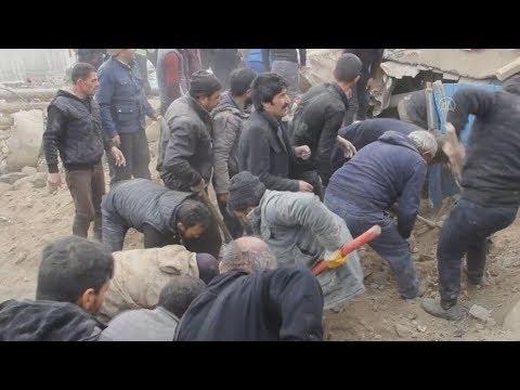 Video - Νέος ισχυρός σεισμός στα σύνορα Τουρκίας - Ιράν