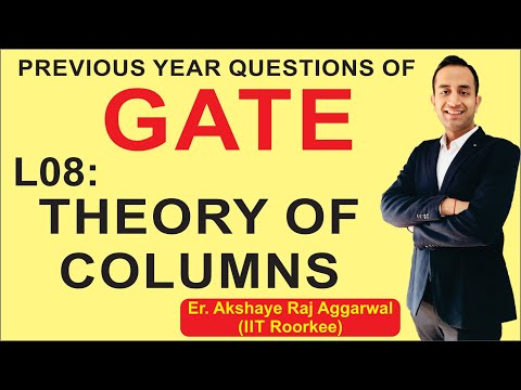 L 08 Theory of Columns | Strength of Materials (SOM) | GATE Previous Year Questions | CIZ