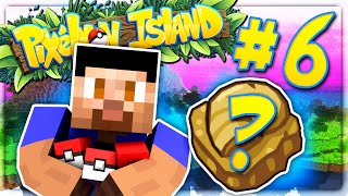 HATCHING RARE FOSSIL POKEMON! - PIXELMON ISLAND SMP #6 (Pokemon Go Minecraft Mod)