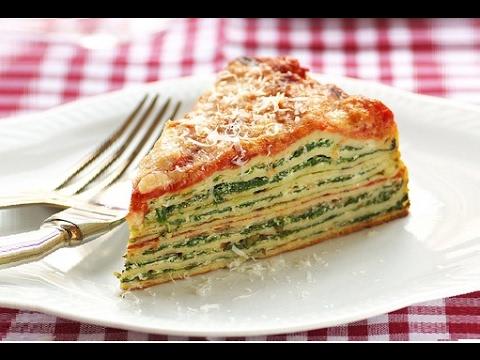 lasagna di crepes deliziosa - ricetta
