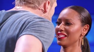 Video Sexy Magician Tries to Kiss Mel B Using His Tricks! MP3, 3GP, MP4, WEBM, AVI, FLV Januari 2018