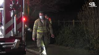 Brandweer rukt uit voor gaslucht op Eemdijk