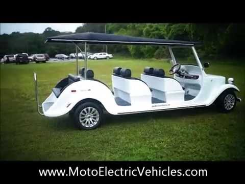 Electric Shuttle 8 Passenger Roadster- Street Legal Electric Low Speed Vehicles