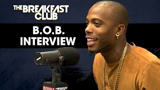 B.o.B. Defends His 'Earth Is Flat' Theory, Talks New Music & More