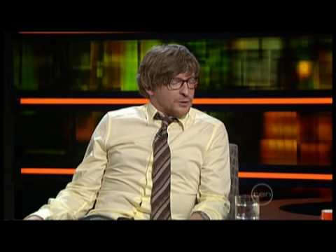 Rhys Darby interview on ROVE (live in studio) - Flight of the Conchords - Murray