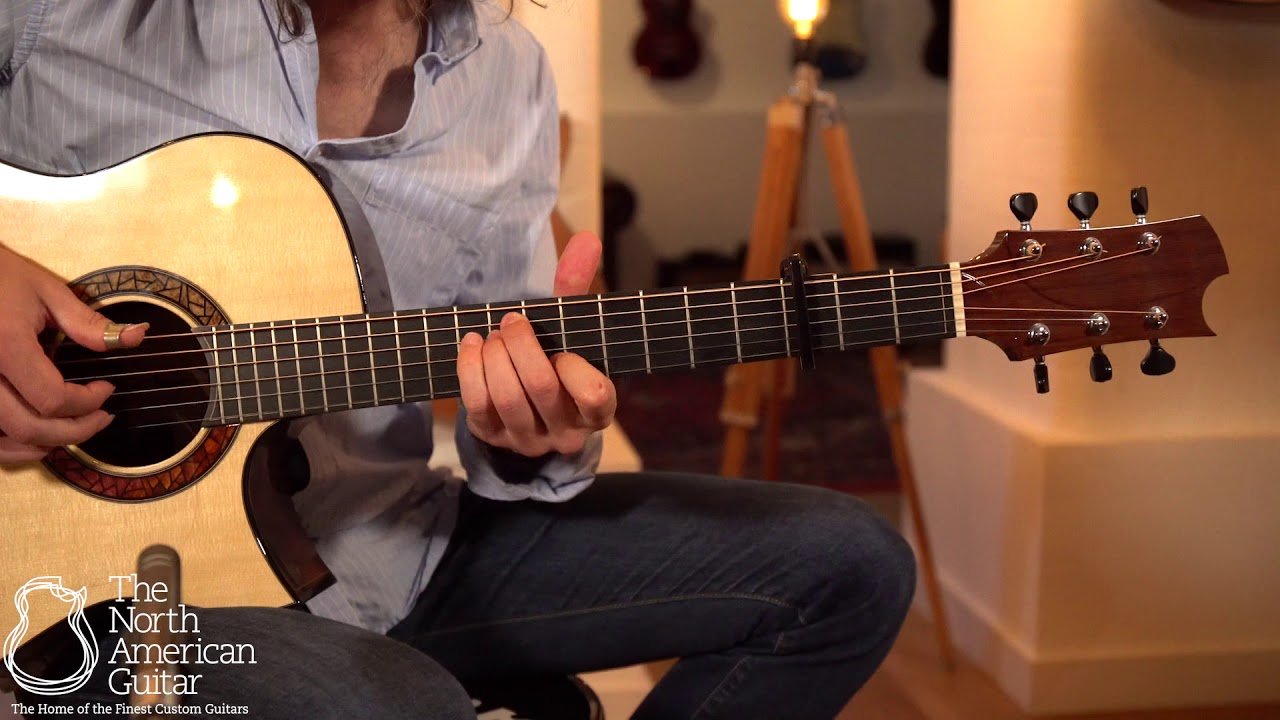 Kostal Modified Dreadnought Acoustic Guitar Played By Tristan Seume (Part Two)