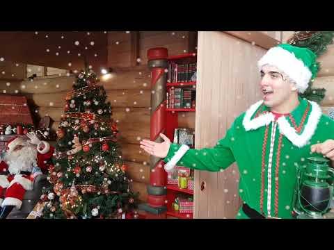 Frases lindas - MENSAJE DE NAVIDAD  FELIZ NAVIDAD PARA TODOS  CASA SANTA CLAUS   WE WISH YOU A MERRY CHRISTMAS