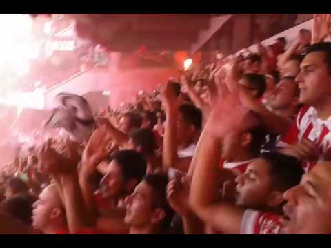 Clásico de avellaneda recibimiento torneo 2016 - La Barra del Rojo - Independiente