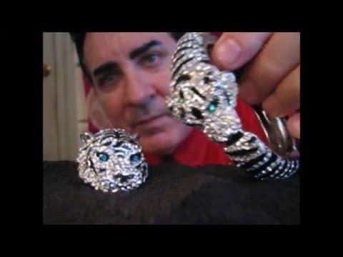 Male ASMR soft spoken designer jewelry --Cartier
