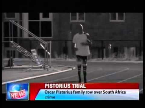 Oscar Pistorius Family Row over South Africa Crime