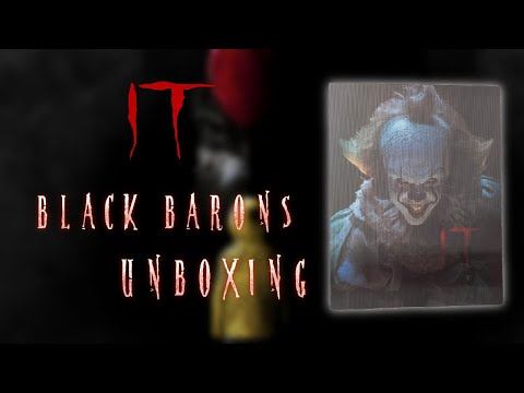 IT (2017) | Black Barons Collection #23 + ZAVVI 4K Exclusive | Blu-ray Steelbook | Unboxing Review