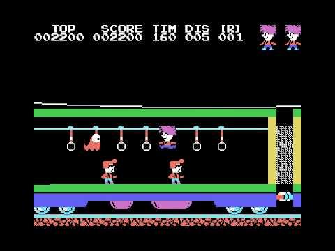Stop the Express (1984, MSX, Hudson Soft / Japanese Softbank)