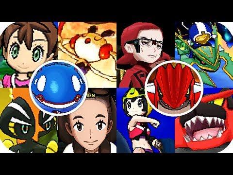 Pokémon 3DS Games - All Cutscenes Animations (1080p60)