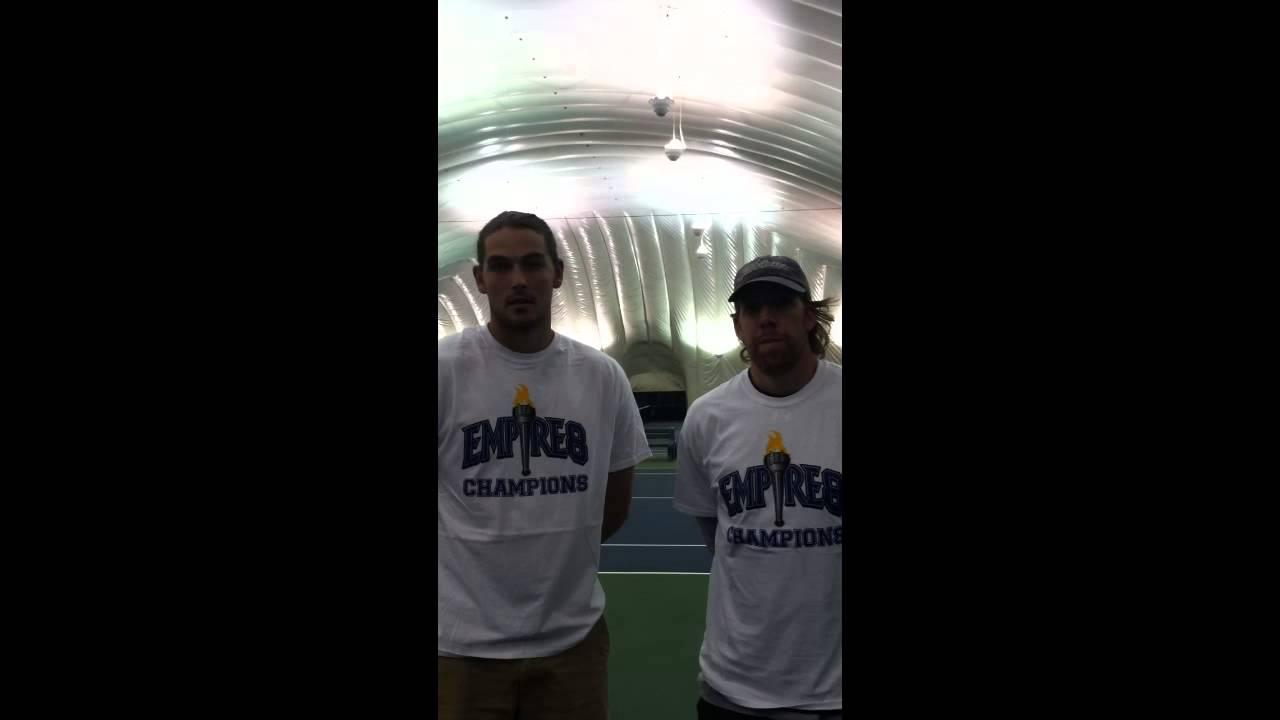 Men's Tennis Interview with Gachko, Zeevy – May 5, 2014