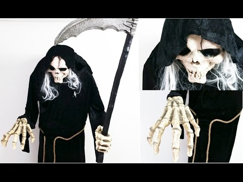 Video The Grim Reaper - Watch Him Talk & Move!! Scary & Creepy!!! Assembly Video download in MP3, 3GP, MP4, WEBM, AVI, FLV January 2017