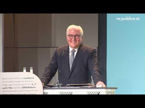 republica 2019 в Frank-Walter Steinmeier Rede des BundesprГsidenten