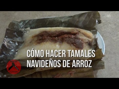 Tamales De Arroz -Receta De Guatemala- Video #57