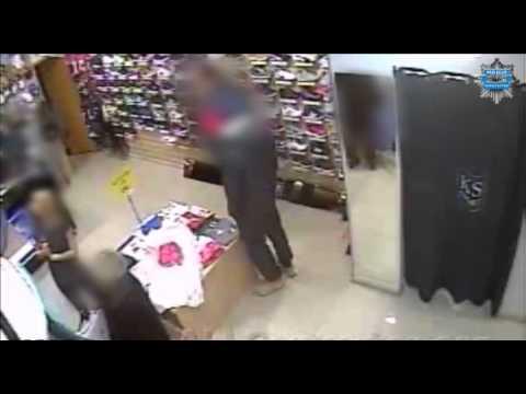 Kościerzyna. Nieletni złodziej w rękach policji