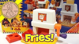 McDonald's Happy Meal Magic French Fry Snack Maker Set, 1993 Mattel Toys (Fun Recipes)