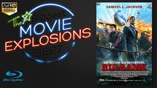 The Best Movie Explosions  Big Game  2014  Air Force One Escape  Hd