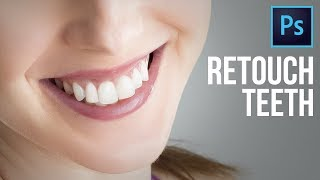 In-Depth Teeth Retouching in Photoshop