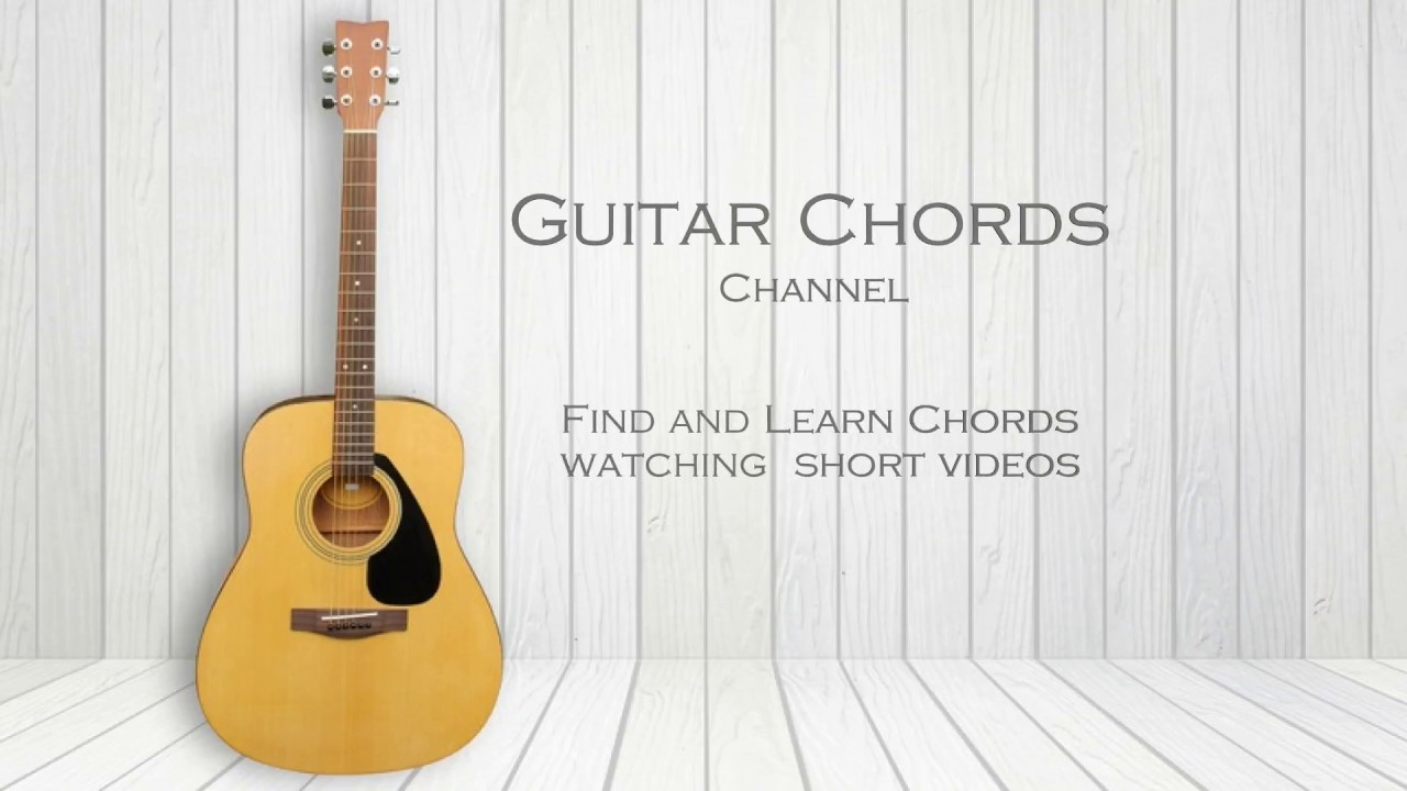 Find and Learn Guitar Chords Watching Short Videos