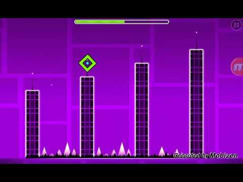 Обзор  игру Geometry dash