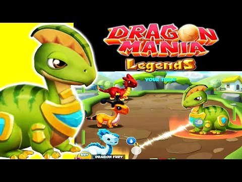 Dragon Mania Legends (Gameloft) - Defeating The Oddest Dragon at the Isolated Island